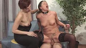 Vidéo porno de deux lesbos avec un étalon bien monté